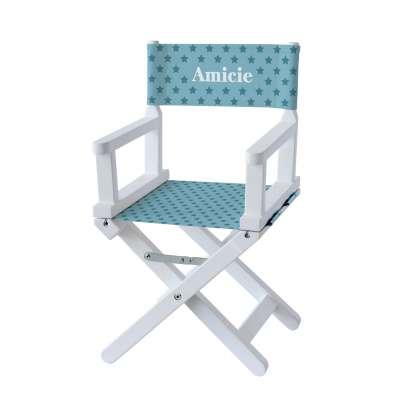 Chaise metteur en scène - Etoiles vert d'eau