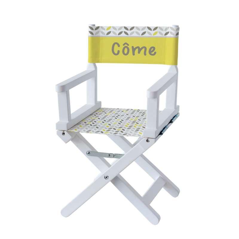 Chaise metteur en scène - Yellow summer