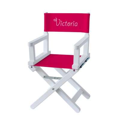 Chaise metteur en scène - Toile rose fuchsia