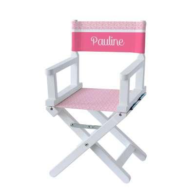 Chaise metteur en scène - Motifs scandinave roses