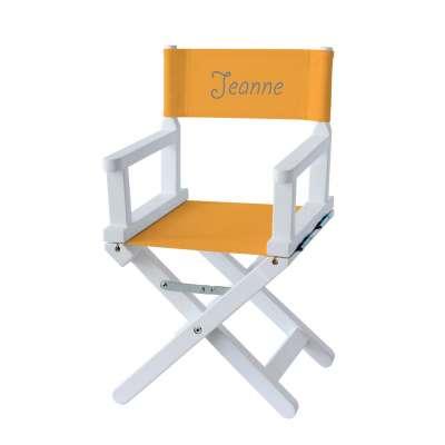 Chaise metteur en scène - Toile unie bouton d'or