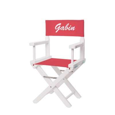 Jeu de toiles pour chaise de metteur en scène enfant - Toile unie rouge