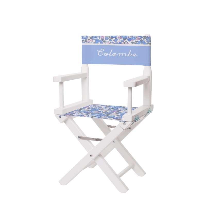 chaise metteur en sc ne fleurs printani res ma petite chaise. Black Bedroom Furniture Sets. Home Design Ideas