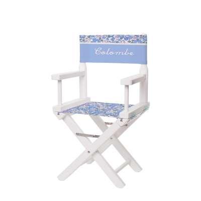 Chaise metteur en scène - Fleurs printanières