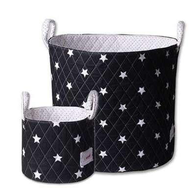 Sacs de rangement Minene - Étoiles noires et blanches