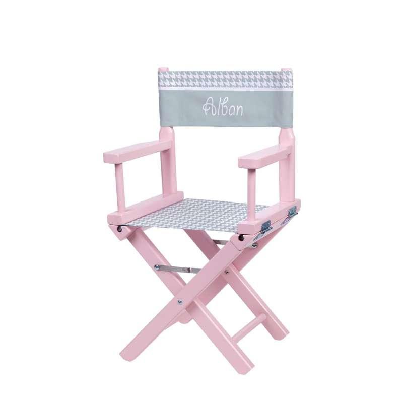 chaise metteur en sc ne pieds de poule vert d 39 eau ma petite chaise. Black Bedroom Furniture Sets. Home Design Ideas