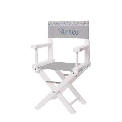Jeu de toiles pour chaise de metteur en scène - PLove and hapiness
