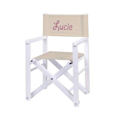 Fauteuil réalisateur - Toile unie ficelle