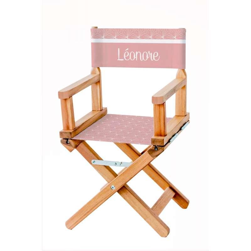 chaise metteur en sc ne vieux rose toiles ma petite. Black Bedroom Furniture Sets. Home Design Ideas