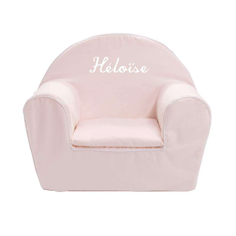 fauteuil club enfant rose p le ma petite chaise. Black Bedroom Furniture Sets. Home Design Ideas