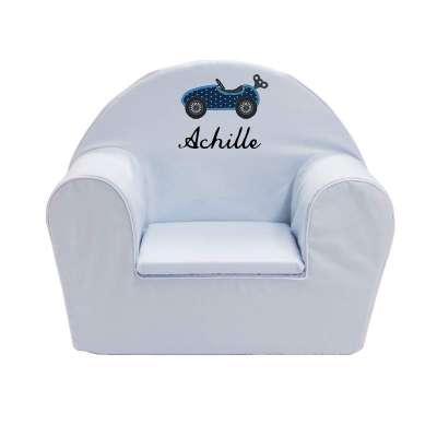 Fauteuil club enfant ma petite automobile ma petite chaise - Chaise enfant personnalise ...