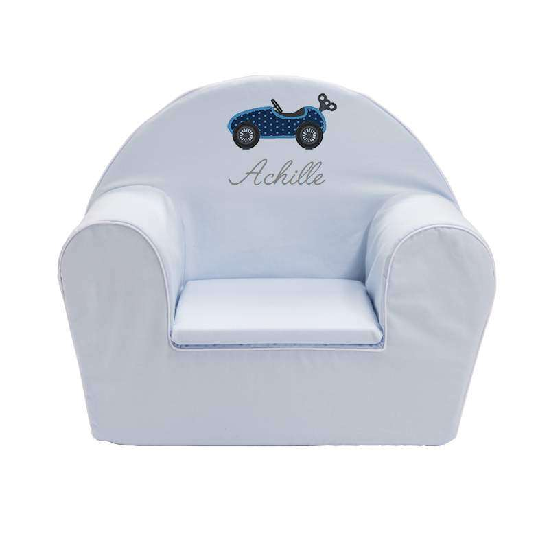 fauteuil club enfant ma petite automobile ma petite chaise. Black Bedroom Furniture Sets. Home Design Ideas