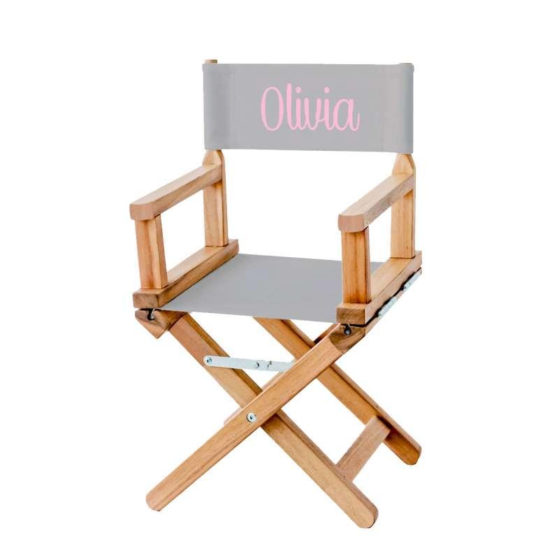 chaise metteur en sc ne gris clair ma petite chaise. Black Bedroom Furniture Sets. Home Design Ideas