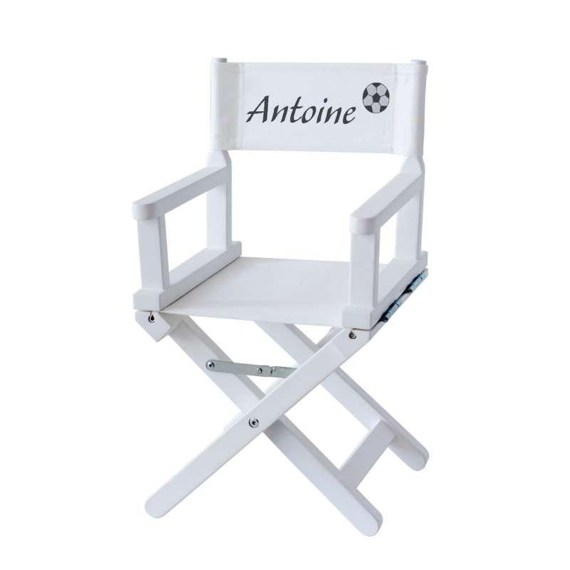 Chaise metteur en scène - Petit footballeur