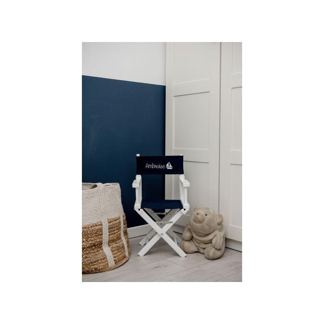 Chaise metteur en scène - Petit bateau