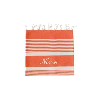 Fouta Arthur - Orange Corail