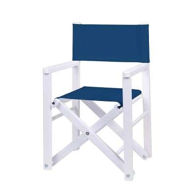 Jeu de toiles pour fauteuil realisateur - Toile unie bleue marine