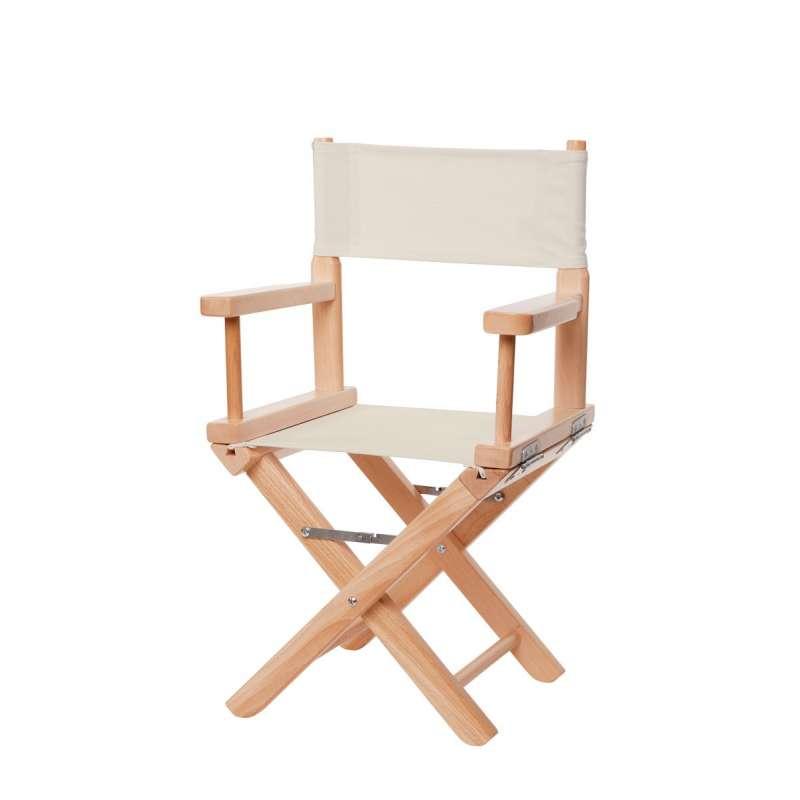Jeu de toiles pour chaise de metteur en scène enfant - Toile unie grège