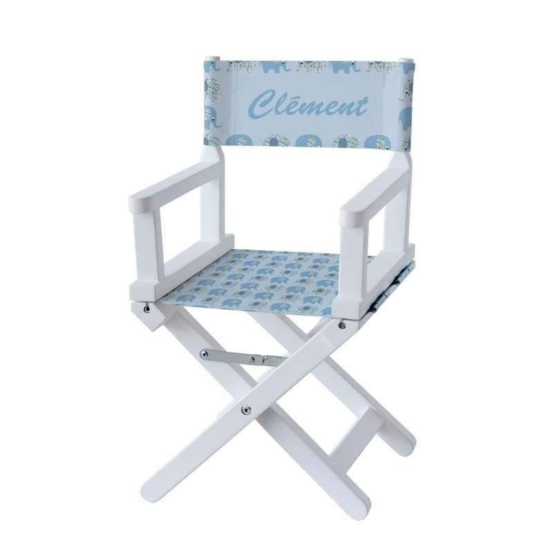 chaise metteur en sc ne petits l phants bleus ma. Black Bedroom Furniture Sets. Home Design Ideas