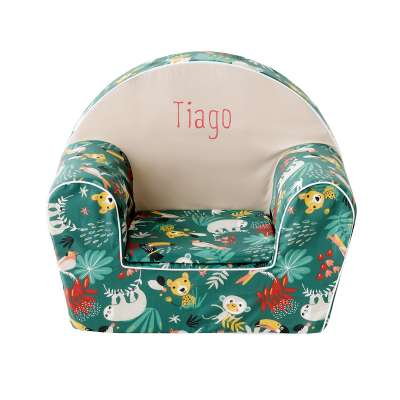 Fauteuil club enfant - Jungle tropicale