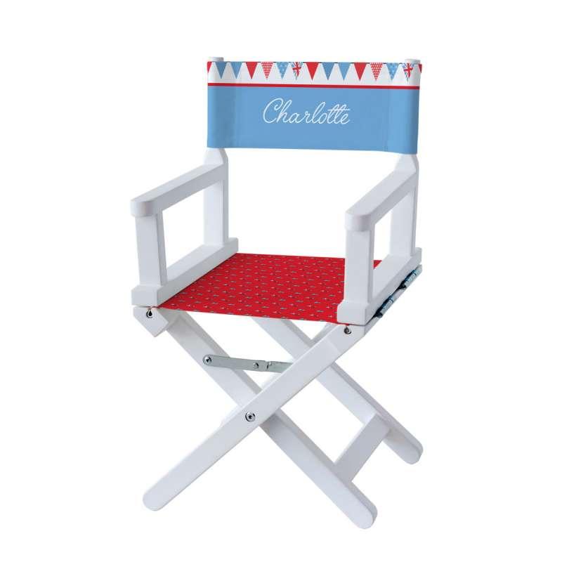 Chaise metteur en scène - Ambiance British