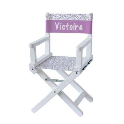 Chaise metteur en scène - Fleurs des montagnes violettes