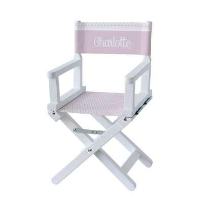 Chaise metteur en scène - Motifs géométriques Lila