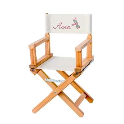 Chaise metteur en scène - Libellule grège