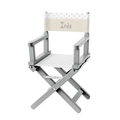 Chaise metteur en scène - Dame de coeur