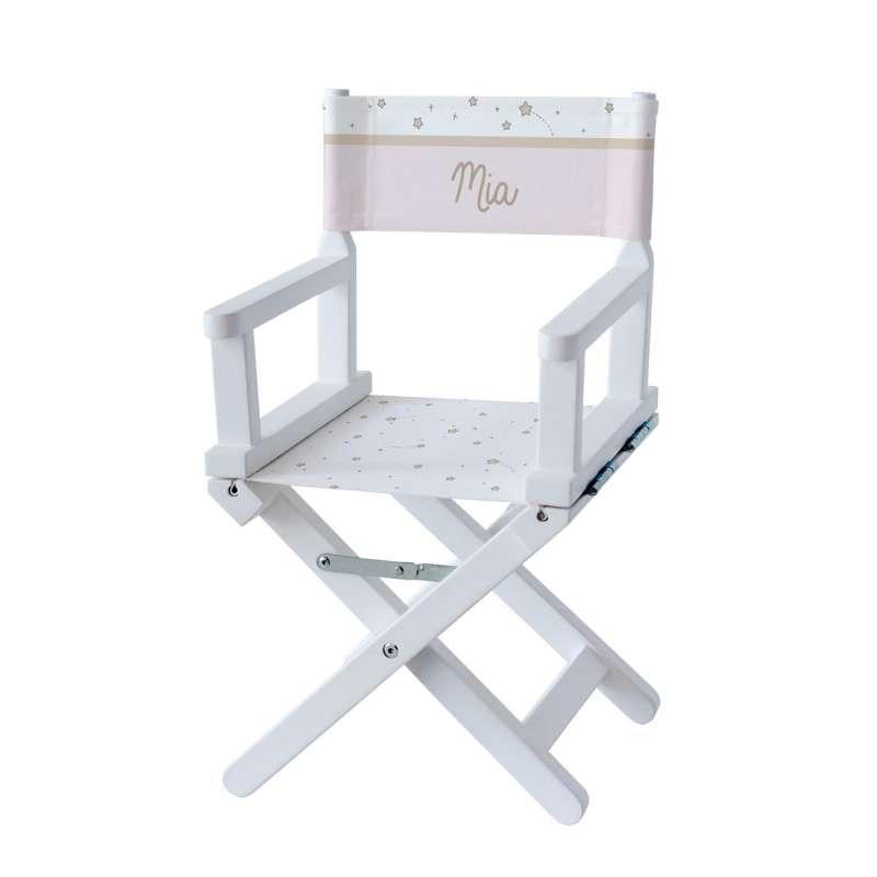 Chaise metteur en scène - Etoile fille