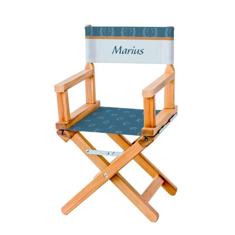 Chaise metteur en scène - Qui s'y frotte, s'y pique