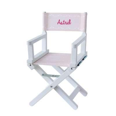 Chaise metteur en scène - Pluie d'étoiles roses