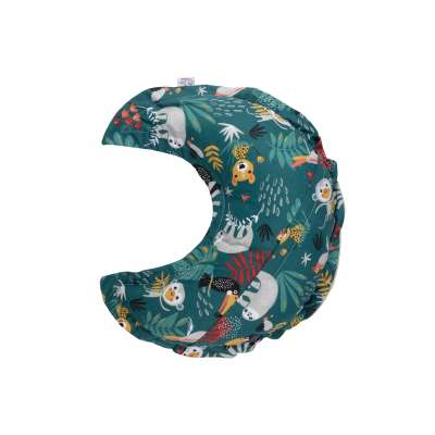Coussin Lune - Jungle tropicale