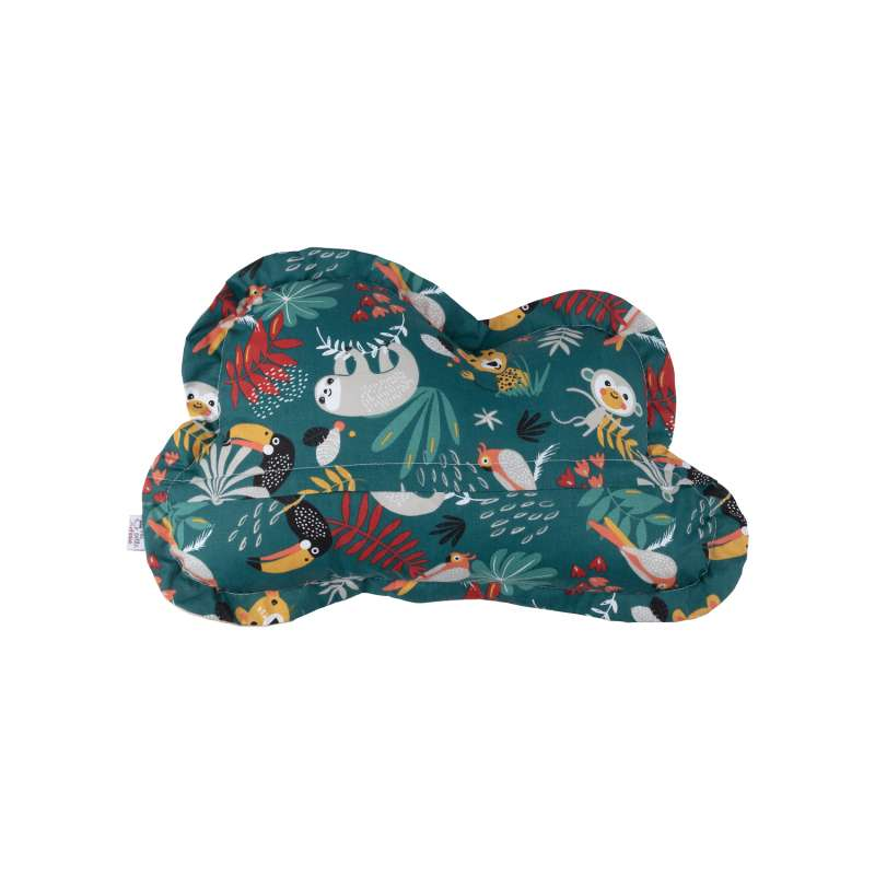 Coussin Nuage - Jungle Tropical