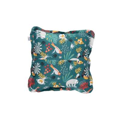 Coussin Carré- Jungle Tropicale