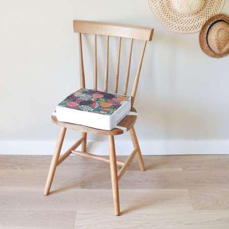 Coussin rehausseur de chaise - Tropical Vert