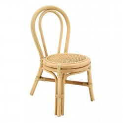 Chaise rotin et cannage enfant