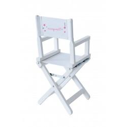 Chaise metteur en scène bébé à étoiles