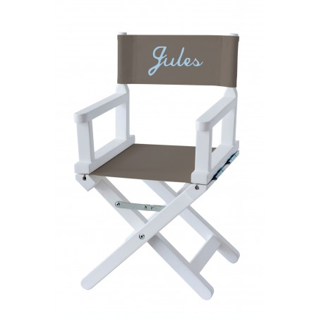 Chaise metteur en scène bébé taupe