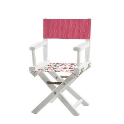 Jeu de toiles pour chaise de metteur en scène - Coeurs et pois roses