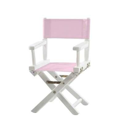 Jeu de toiles pour chaise de metteur en scène - Toile unie rose pâle