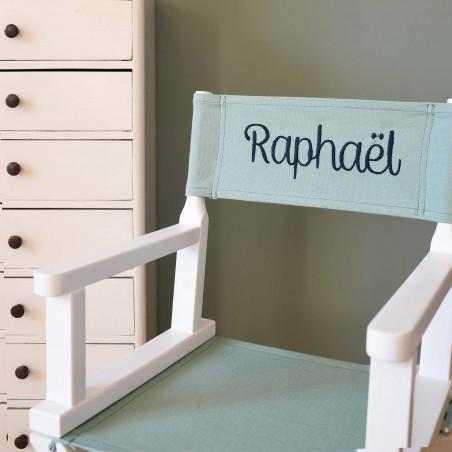 Chaise metteur en scène bébé vert menthe