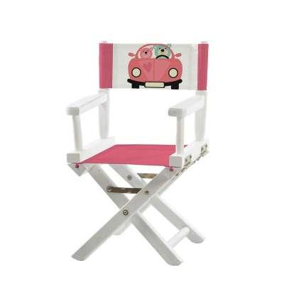Jeu de toiles pour chaise de metteur en scène - En voiture les oursons!