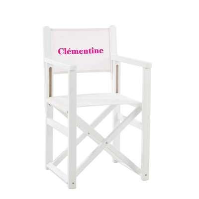Jeu de toile pour fauteuil de cinéaste