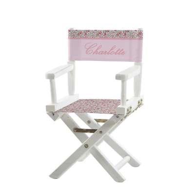 Chaise metteur en scène - Fleurs des montagnes roses