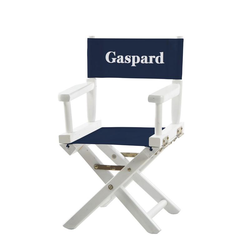 Chaise metteur en scène - Bleu marine