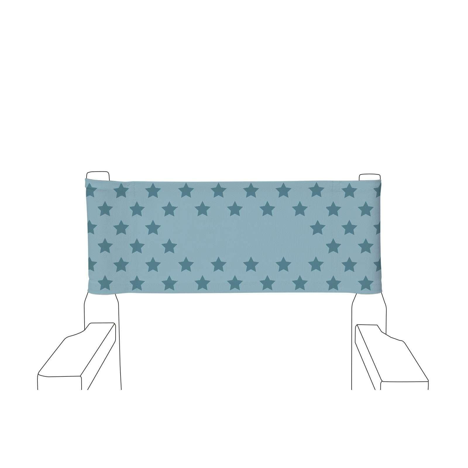 chaise de metteur en sc ne enfant toile unie etoiles. Black Bedroom Furniture Sets. Home Design Ideas